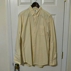 Uniqlo Oxford Shirt Slim Fit Size Medium
